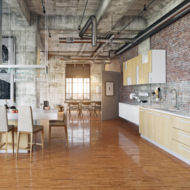 Urban Living-loft style from IMAWELL